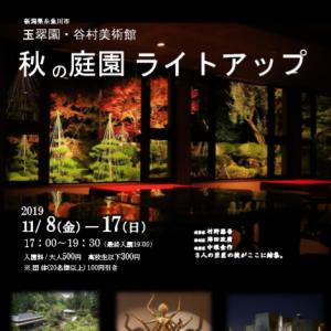 谷村美術館 ライトアップ