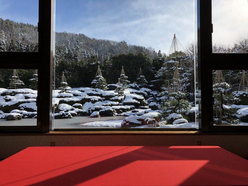 F_玉‗冬‗毛氈からの雪景色